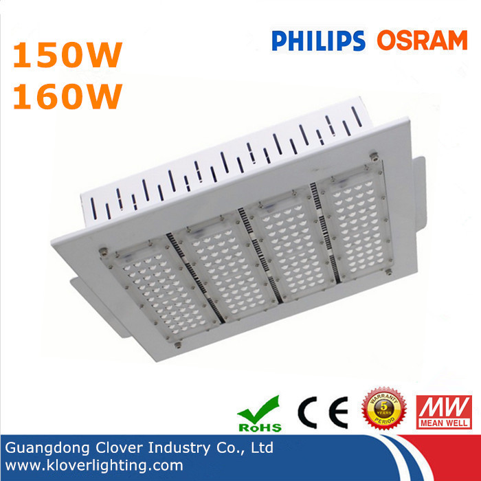 Led Canopy Lights: Recessed 150W LED Canopy Light For Gas Station