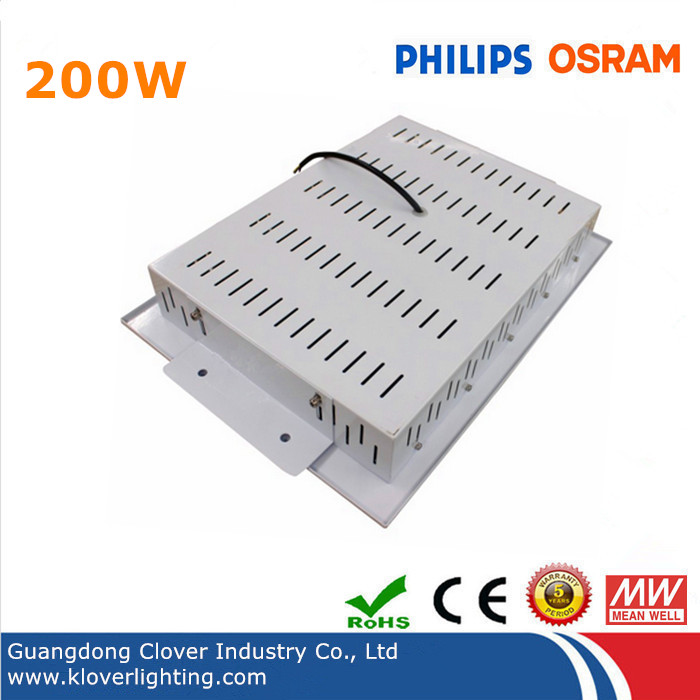 Philips SMD3030 200W LED canopy light with Meanwell driver