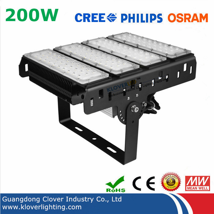 5 year warranty 200W LED flood lights
