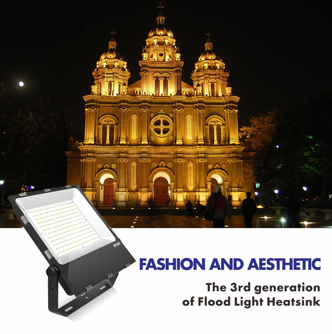 5 year warranty high lumen 150W LED flood lights