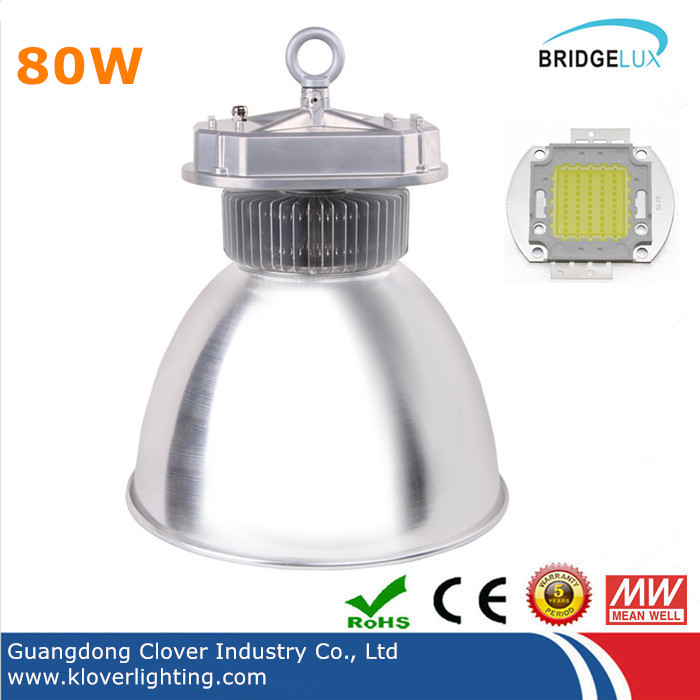 Bridgelux COB 80W LED High Bay Lighting Fixtures