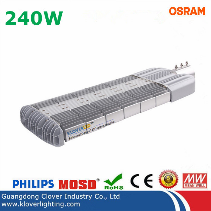 CREE 240W LED street lights Meanwell driver