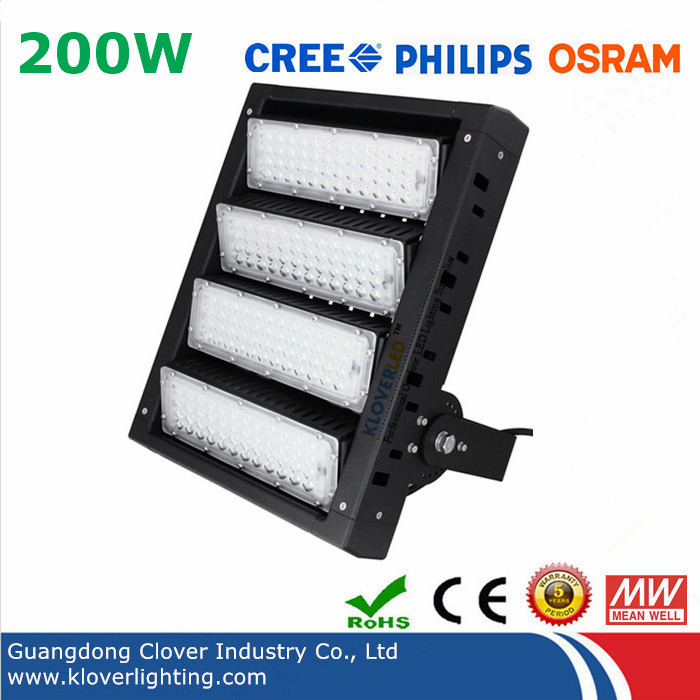 CREE XTE 200W LED FLOOD LIGHTS with Meanwell driver