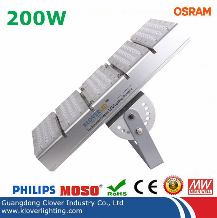 CREE XTE 200W LED tunnel light Meanwell driver