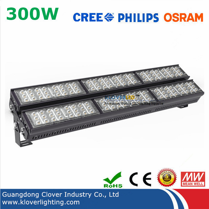 CREE XTE 300W Linear LED high bay Lights 5 year warranty