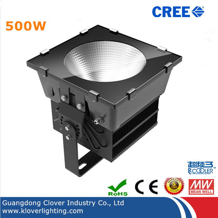 CREE XTE Chips 500W LED stadium lighting