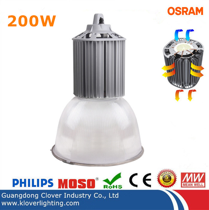 China manufacturer 200W industrial LED high bay lights