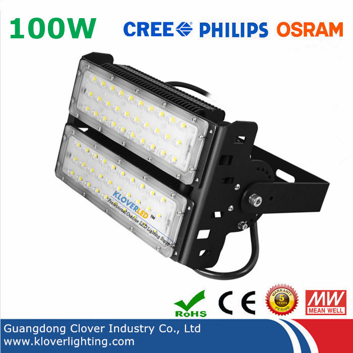 Exterior 100W LED flood lights fixtures