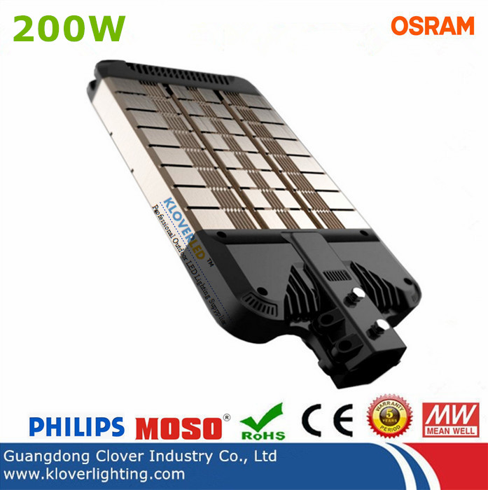 High lumen 200W LED street light