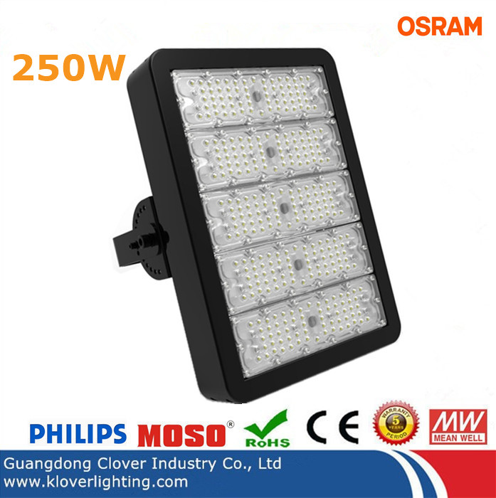 IP65 Bridgelux chip 250W LED tunnel lights