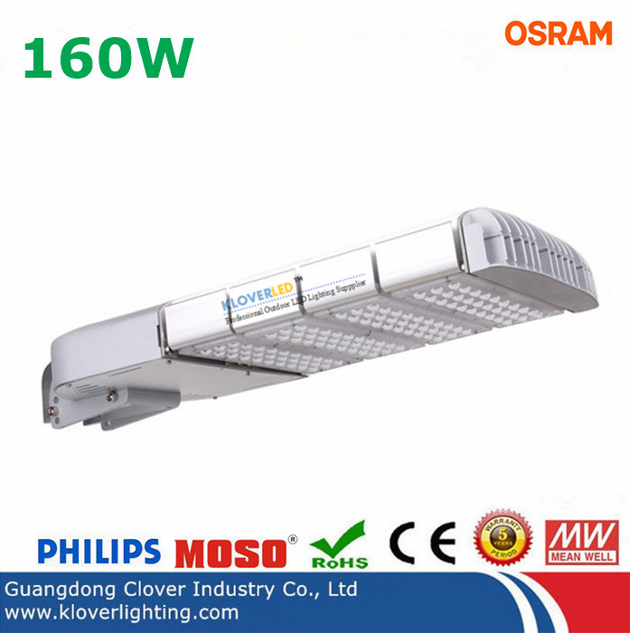 outdoor ip65 cree xte 160w led street lights with meanwell driver