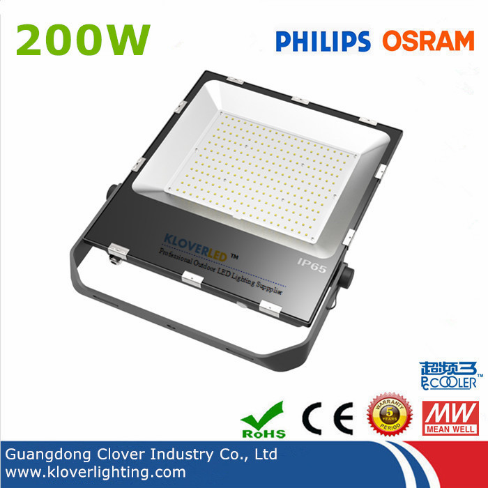 Outdoor water proof IP65 200W LED flood lights