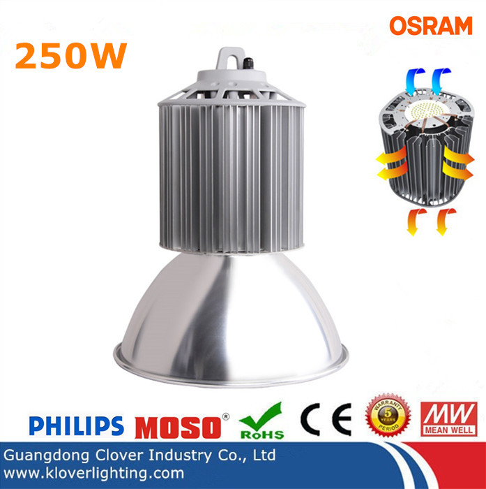 high lumen 250W LED high bay lighting