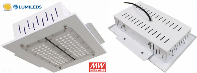 Philips 3030 LED canopy lights with Meanwell driver