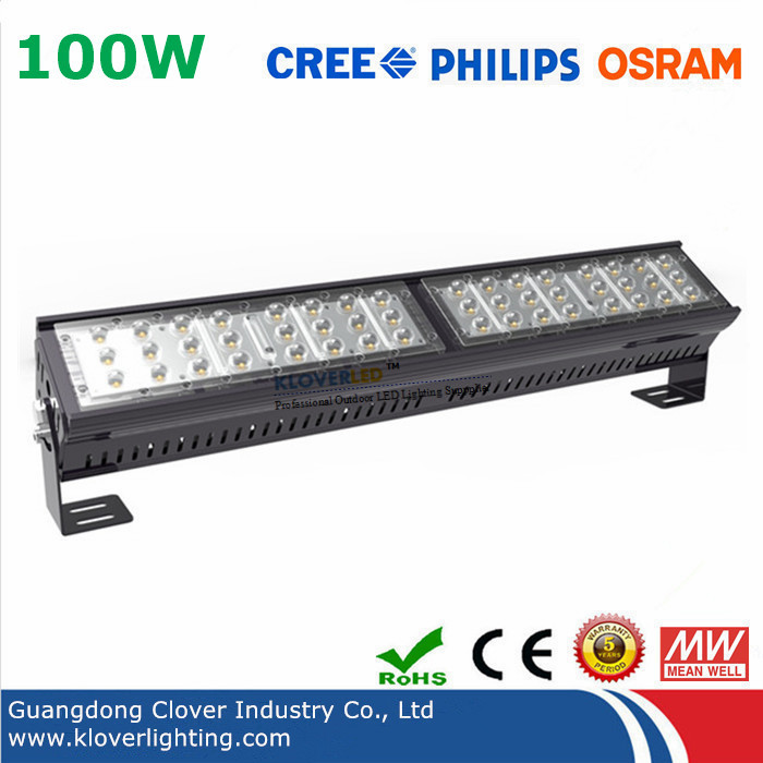 Philips SMD3030 100W LED linear High Bay Light Meanwell driver