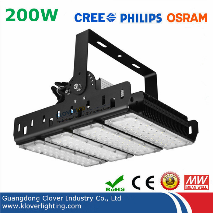 Philips SMD3030 200W LED flood light with Meanwell driver