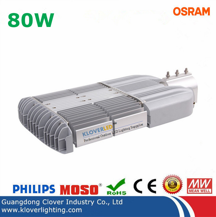 Philips SMD3030 50W LED street light Meanwell driver