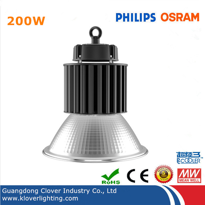 200W LED high bay lights with Philps or Osram SMD3030 chips