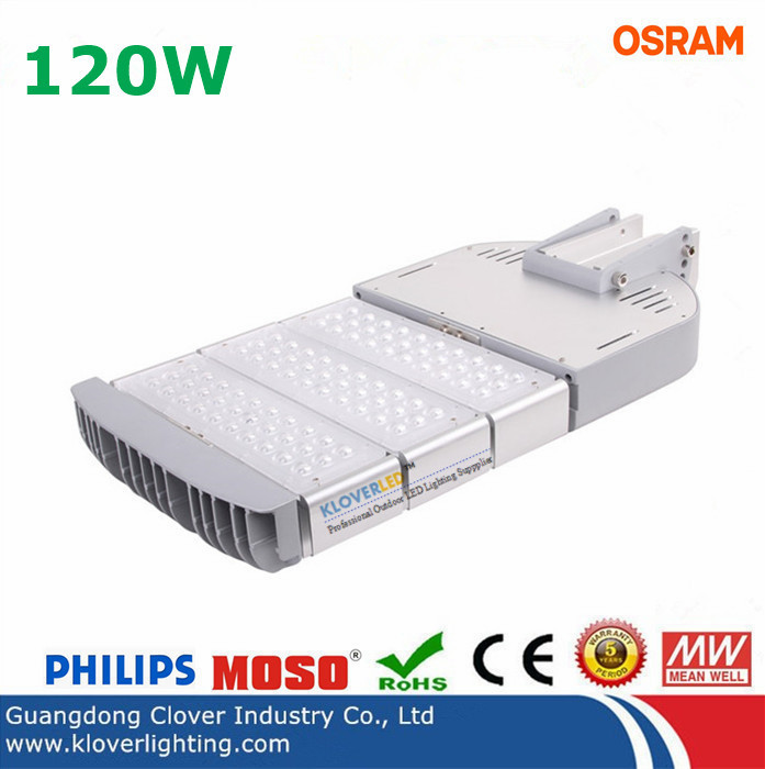 Super bright IP65 120W LED street lighting