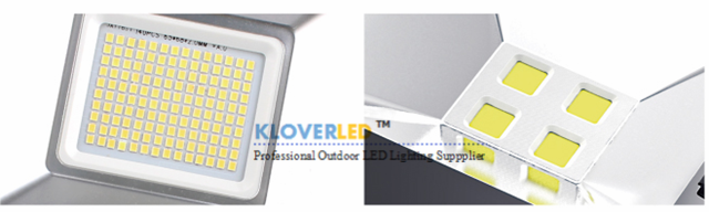 different light source for LED flood lights