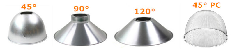 lamp shade for 250W LED high bay lights