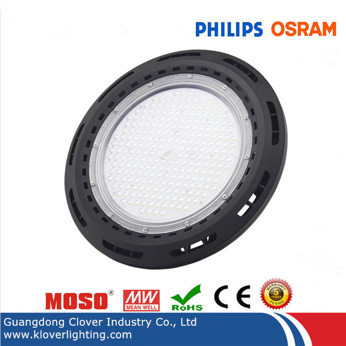 100W UFO high bay light with Meanwell driver and Philips chip