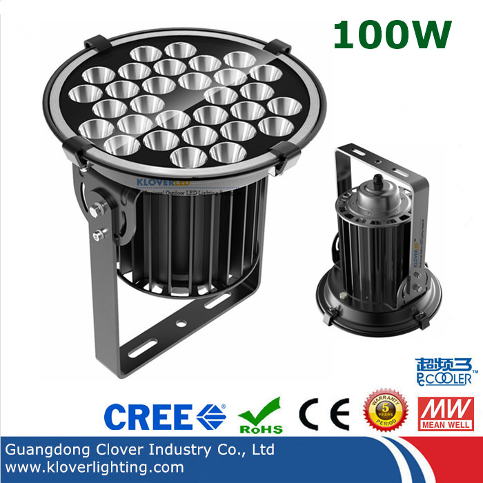 outdoor narrow beam angle 100W LED flood light