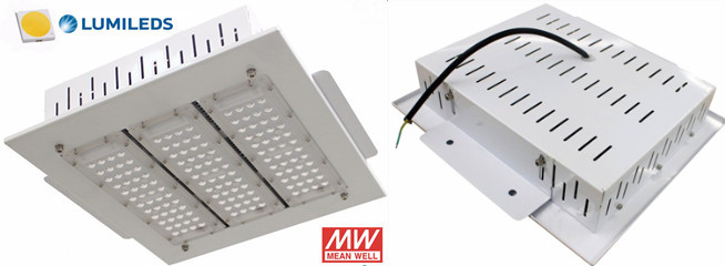 Explosion proof 120W LED canopy lights