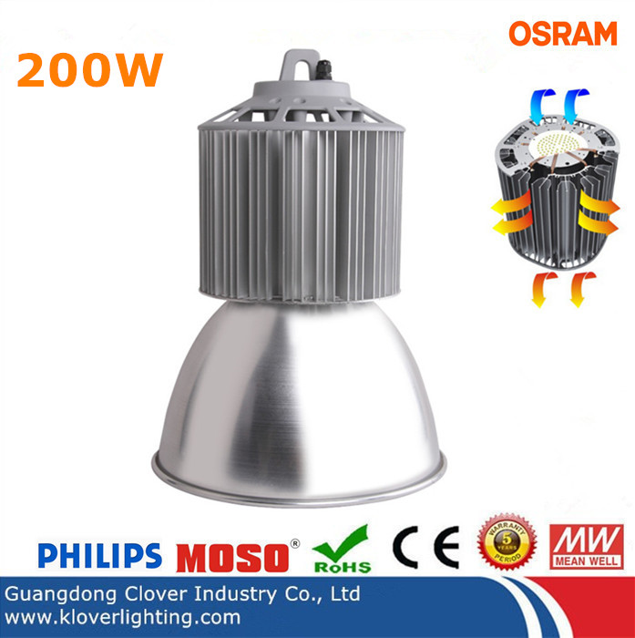 philips SMD3030 200W industrial LED high bay lighting